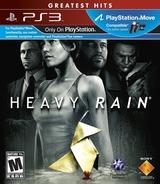 Heavy Rain (Greatest Hits) PS3 cover (BCUS98280)