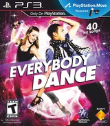 Everybody Dance PS3 cover (BCUS98365)