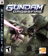 Mobile Suit Gundam: Crossfire PS3 cover (BLUS30017)