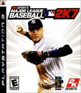 Major League Baseball 2K7 PS3 cover (BLUS30025)