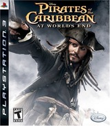 Pirates of the Caribbean: At World's End PS3 cover (BLUS30029)