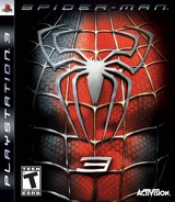 Spider-Man 3 PS3 cover (BLUS30031)