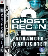 Tom Clancy's Ghost Recon: Advanced Warfighter 2 PS3 cover (BLUS30034)