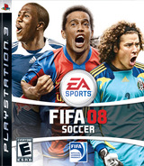 FIFA Soccer 08 PS3 cover (BLUS30038)