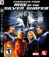 Fantastic Four: Rise of the Silver Surfer PS3 cover (BLUS30042)