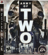 Army of Two PS3 cover (BLUS30057)