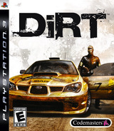 DiRT PS3 cover (BLUS30064)