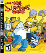 The Simpsons Game PS3 cover (BLUS30065)