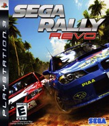Sega Rally: Revo PS3 cover (BLUS30068)