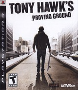Tony Hawk's Proving Ground PS3 cover (BLUS30071)