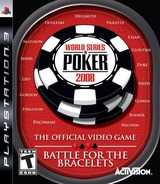 World Series of Poker 2008: Battle for the Bracelets PS3 cover (BLUS30075)