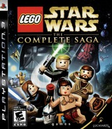 LEGO Star Wars: The Complete Saga PS3 cover (BLUS30079)