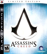 Assassin's Creed (Limited Edition) PS3 cover (BLUS30096)
