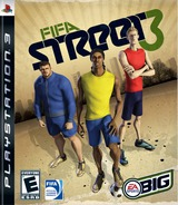 FIFA Street 3 PS3 cover (BLUS30099)