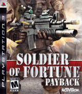 Soldier of Fortune: Payback PS3 cover (BLUS30105)