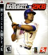 Major League Baseball 2K8 PS3 cover (BLUS30122)