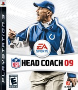 NFL Head Coach '09 PS3 cover (BLUS30128)