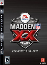 Madden NFL '09 (20th Anniversary Collector's Edition) PS3 cover (BLUS30150)