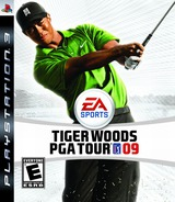 Tiger Woods PGA Tour '09 PS3 cover (BLUS30159)