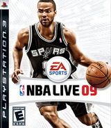NBA Live '09 PS3 cover (BLUS30173)