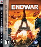 Tom Clancy's EndWar PS3 cover (BLUS30180)