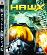 Tom Clancy's H.A.W.X. PS3 cover (BLUS30186)