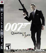 Quantum of Solace: The Game PS3 cover (BLUS30198)