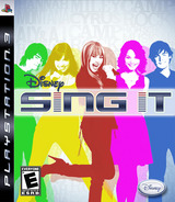 Disney's Sing It! PS3 cover (BLUS30204)