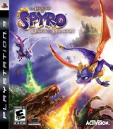 The Legend of Spyro: Dawn of the Dragon PS3 cover (BLUS30205)