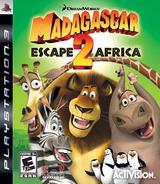 Madagascar: Escape 2 Africa PS3 cover (BLUS30219)