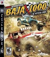 Score International: Baja 1000 PS3 cover (BLUS30230)