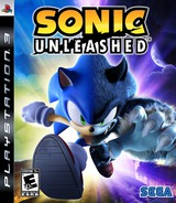 Sonic Unleashed PS3 cover (BLUS30244)