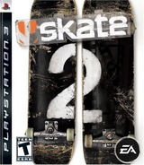 Skate 2 PS3 cover (BLUS30253)