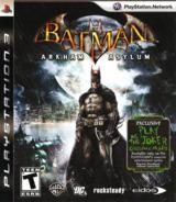 Batman: Arkham Asylum PS3 cover (BLUS30279)