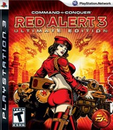 Command & Conquer: Red Alert 3 (Ultimate Edition) PS3 cover (BLUS30283)