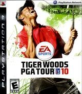 Tiger Woods PGA Tour '10 PS3 cover (BLUS30286)
