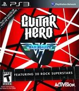 Guitar Hero: Van Halen PS3 cover (BLUS30291)