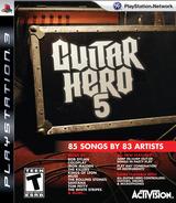 Guitar Hero 5 PS3 cover (BLUS30292)