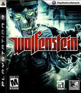 Wolfenstein PS3 cover (BLUS30298)