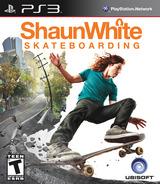 Shaun White Skateboarding PS3 cover (BLUS30303)