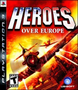 Heroes Over Europe PS3 cover (BLUS30308)