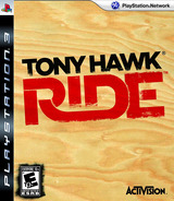 Tony Hawk: Ride PS3 cover (BLUS30325)