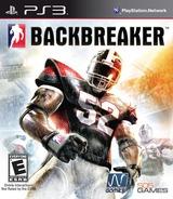 Backbreaker PS3 cover (BLUS30334)