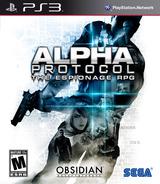Alpha Protocol PS3 cover (BLUS30341)