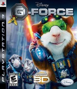 G-Force: The Video Game PS3 cover (BLUS30354)