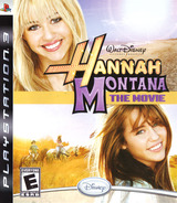 Hannah Montana: The Movie PS3 cover (BLUS30365)