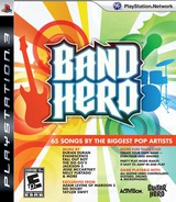 Band Hero PS3 cover (BLUS30372)