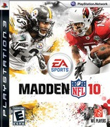 Madden NFL '10 PS3 cover (BLUS30375)
