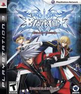 BlazBlue: Calamity Trigger - Limited Edition PS3 cover (BLUS30390)