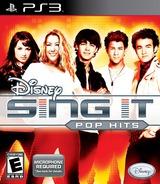 Disney Sing It: Pop Hits PS3 cover (BLUS30397)